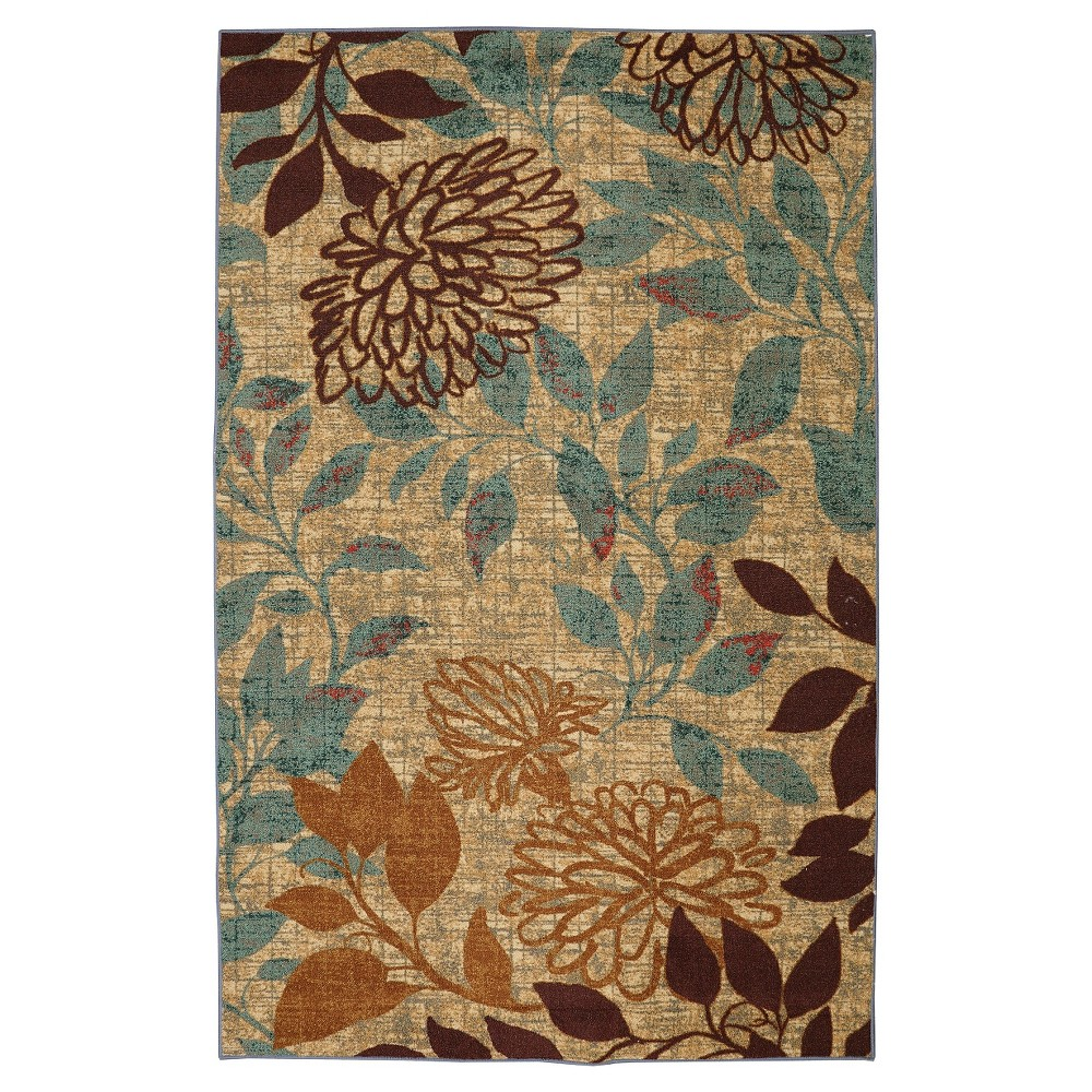 Image of Mohawk Floral Area Rug (8'X10')