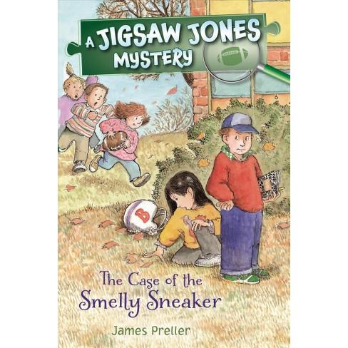 Jigsaw Jones: The Case of the Smelly Sneaker - (Jigsaw Jones Mysteries) by  James Preller (Paperback) - image 1 of 1