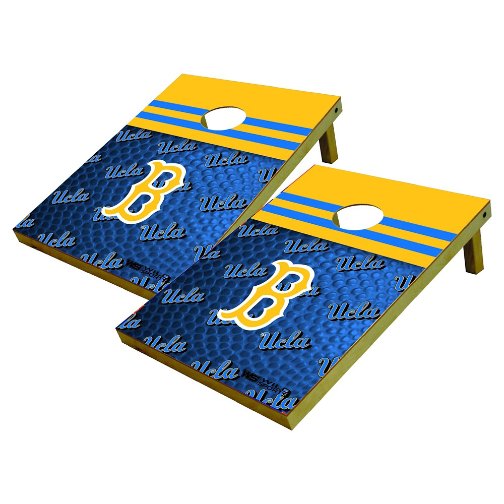 NCAA Ucla Bruins Wild Sports Platinum Shield Cornhole Bag Toss Set - 2'X3'