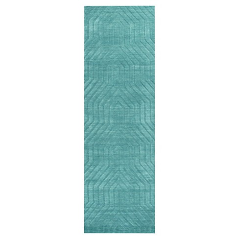 Rizzy Home Technique Collection Hand Loomed 100 Wool Runner Rug
