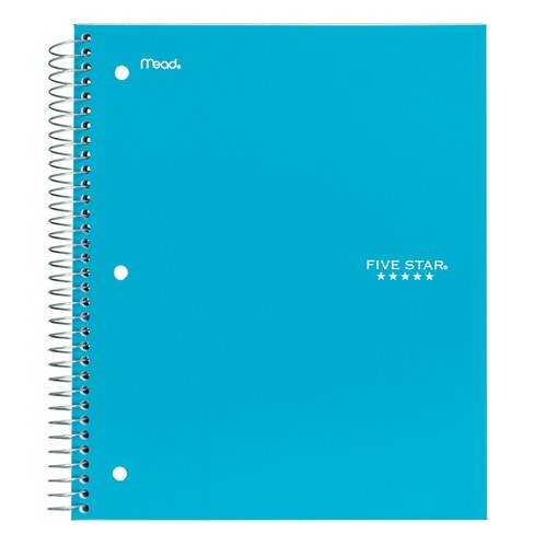 Five Star College Ruled Wirebound 3 Subject Notebook - image 1 of 1