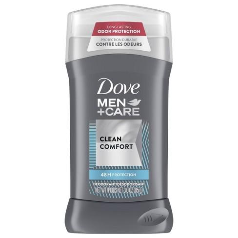 Dove Men+Care Clean Comfort 48-Hour Deodorant Stick - 3oz  - image 1 of 4