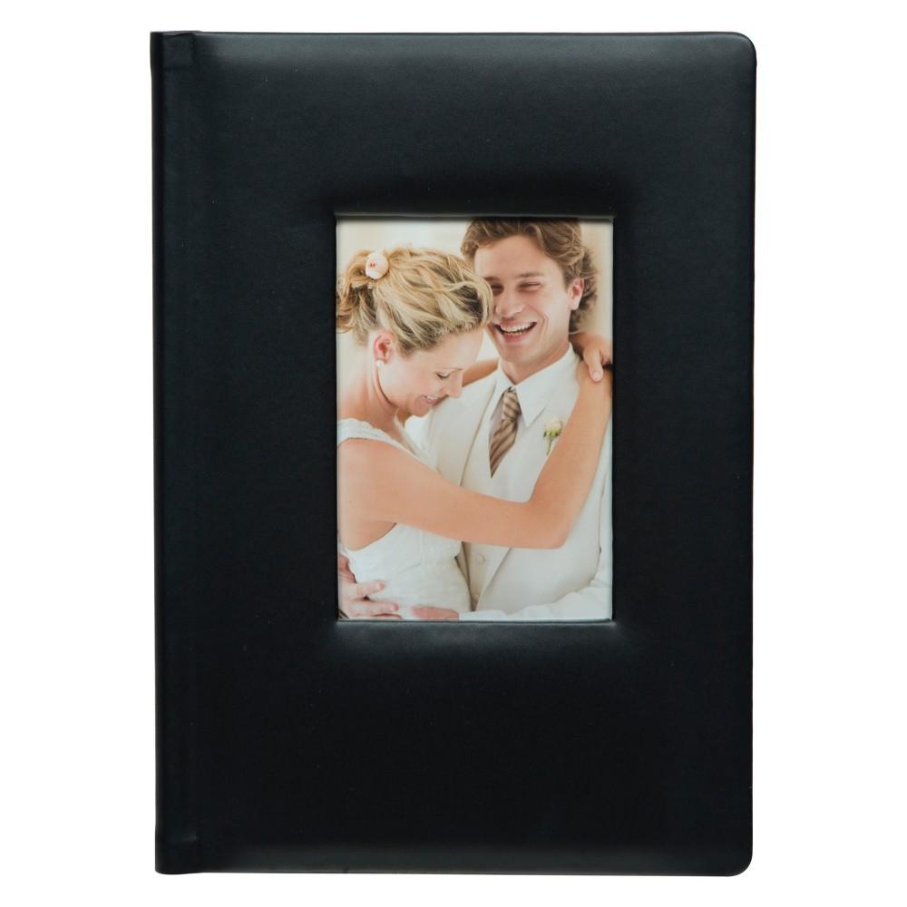 """Image of """"Pinnacle Albums 12.5"""""""" x 8"""""""".5"""""""" Premium Leather Photo Album Black"""""""