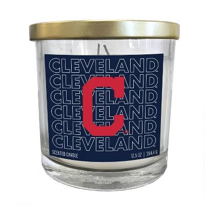MLB Cleveland Indians Echo Team Candle