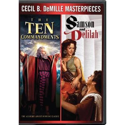 Ten Commandments / Samson & Delilah (Dvd) by Target