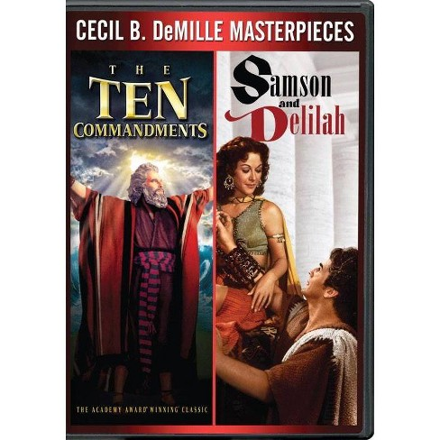 Ten Commandments / Samson & Delilah (DVD) - image 1 of 1