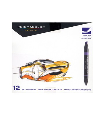 Art Markers Primary and Secondary Colors 12ct - Prismacolor