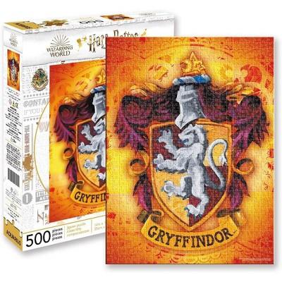 NMR Distribution Harry Potter Gryffindor Logo 500 Piece Jigsaw Puzzle