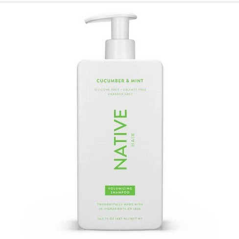 Native Cucumber & Mint Volume Shampoo - 16.5 fl oz - image 1 of 4