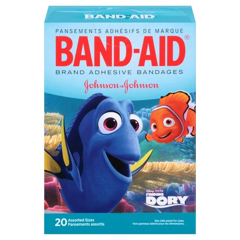 Band-Aid Decorated Finding Dory Bandages - 20ct - image 1 of 7