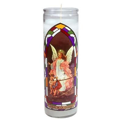 Jar Candle Angel De La Guardia White - Continental Candle