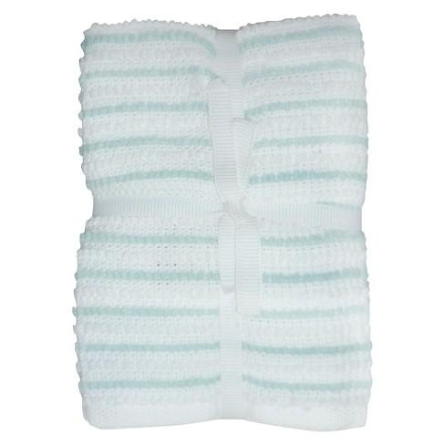 Caribbean Aqua Stripe Dish Cloth (6 Pk) - Room Essentials™ - image 1 of 1
