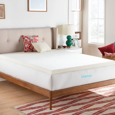 "California King Essentials 3"" ActiveRelief Memory Foam Mattress Topper - Linenspa"