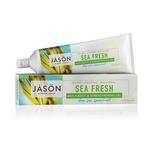 Jason Deep Sea Spearmint Sea Fresh Anti-Cavity & Strengthening Toothpaste - 6oz - image 1 of 3