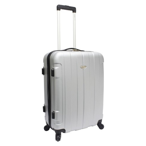 "Traveler's Choice Rome 25"" Suitcase - Silver - image 1 of 5"