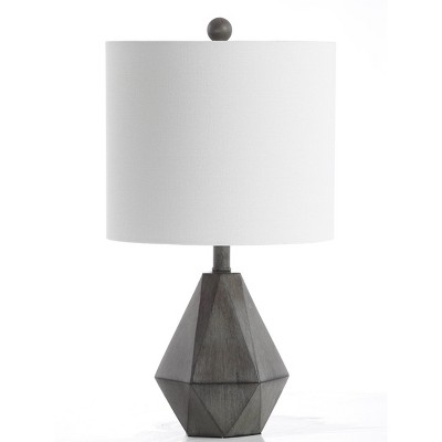 Vaughn Table Lamp (Includes LED Light Bulb)Dark Gray - Safavieh