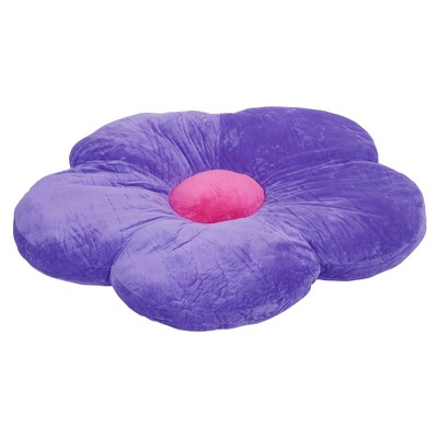 ECR4Kids Flower Floor Pillow, Oversized Cushion for Kids' Bedrooms, Reading Nooks, Playrooms