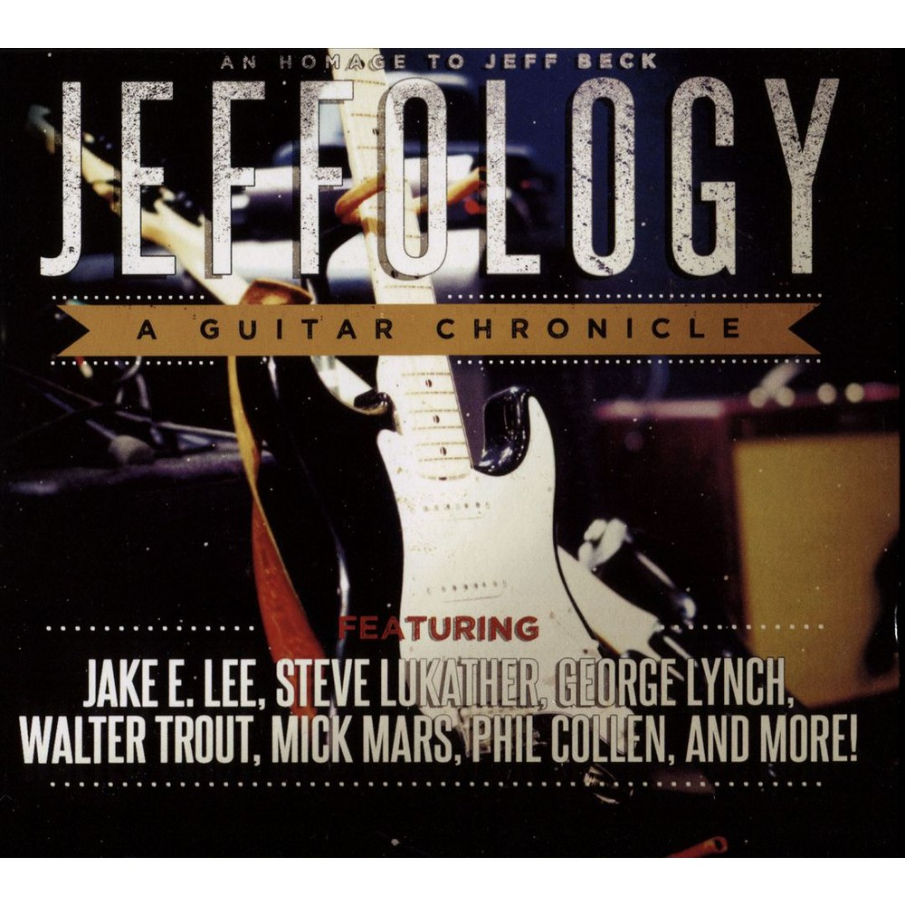 Various - Jeffology:Tribute To Jeff Beck (CD)