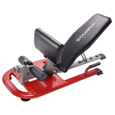 Stamina 4-in-1 Strength Training Station - Red