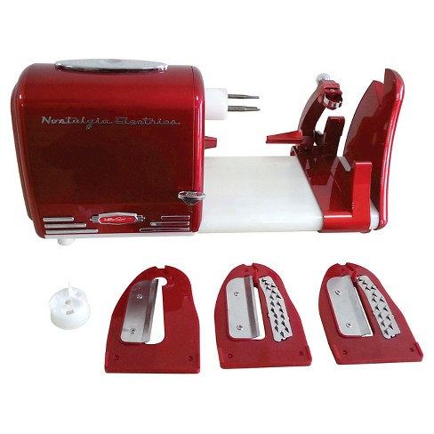 Nostalgia Retro Series Electric Spiral Twister & Peeler - Red PT300RETRORED - image 1 of 5