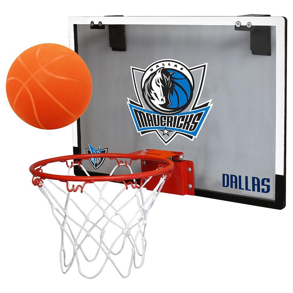 Dallas Mavericks Rawlings Over-The-Door Mini Hoop Set