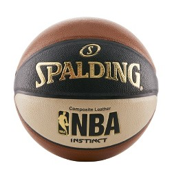 "Spalding Instinct 29.5"" Basketball - Brown"