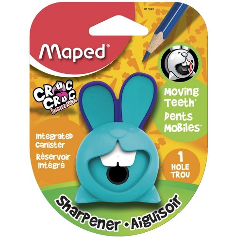 Maped Croc Croc 1-Hole Bunny Sharpener, Assorted Colors, pk of 20 - image 1 of 2