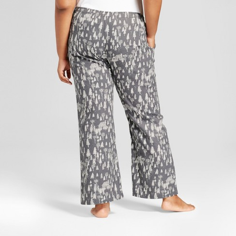 91335c830b95f Women s Plus Size Pajama Pants - Gilligan   O Malley™ Anchor Gray 3X    Target