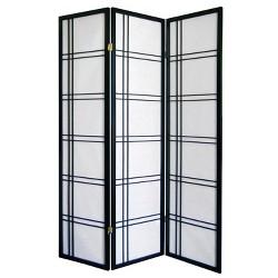 Girard 3 Panel Room Divider - Ore International