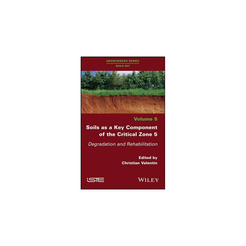 Soils As a Key Component of the Critical Zone 5 : Degradation and Rehabilitation - (Hardcover)