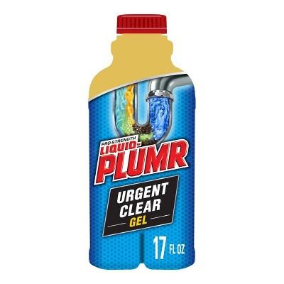 Liquid-Plumr Pro-Strength Clog Remover Urgent Clear - 17 fl oz