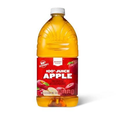 100% Apple Juice - 64 fl oz Bottle - Market Pantry™