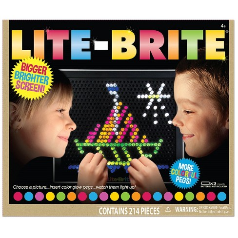 Lite Brite Ultimate Classic With 6 Templates And Target