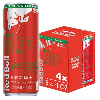 Red Bull Red Edition Energy Drink - 4pk/8 fl oz Cans
