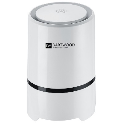 Dartwood Mini Portable Air Purifier with HEPA Filter - Compact and USB Powered to Cleanse and Decontaminate Air, and Removes Odor, Dust and Particles