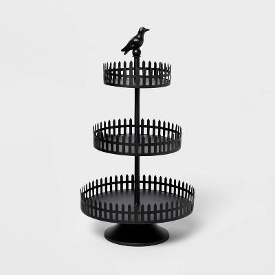 Tiered Metal Black Halloween Tray - Hyde & EEK! Boutique™
