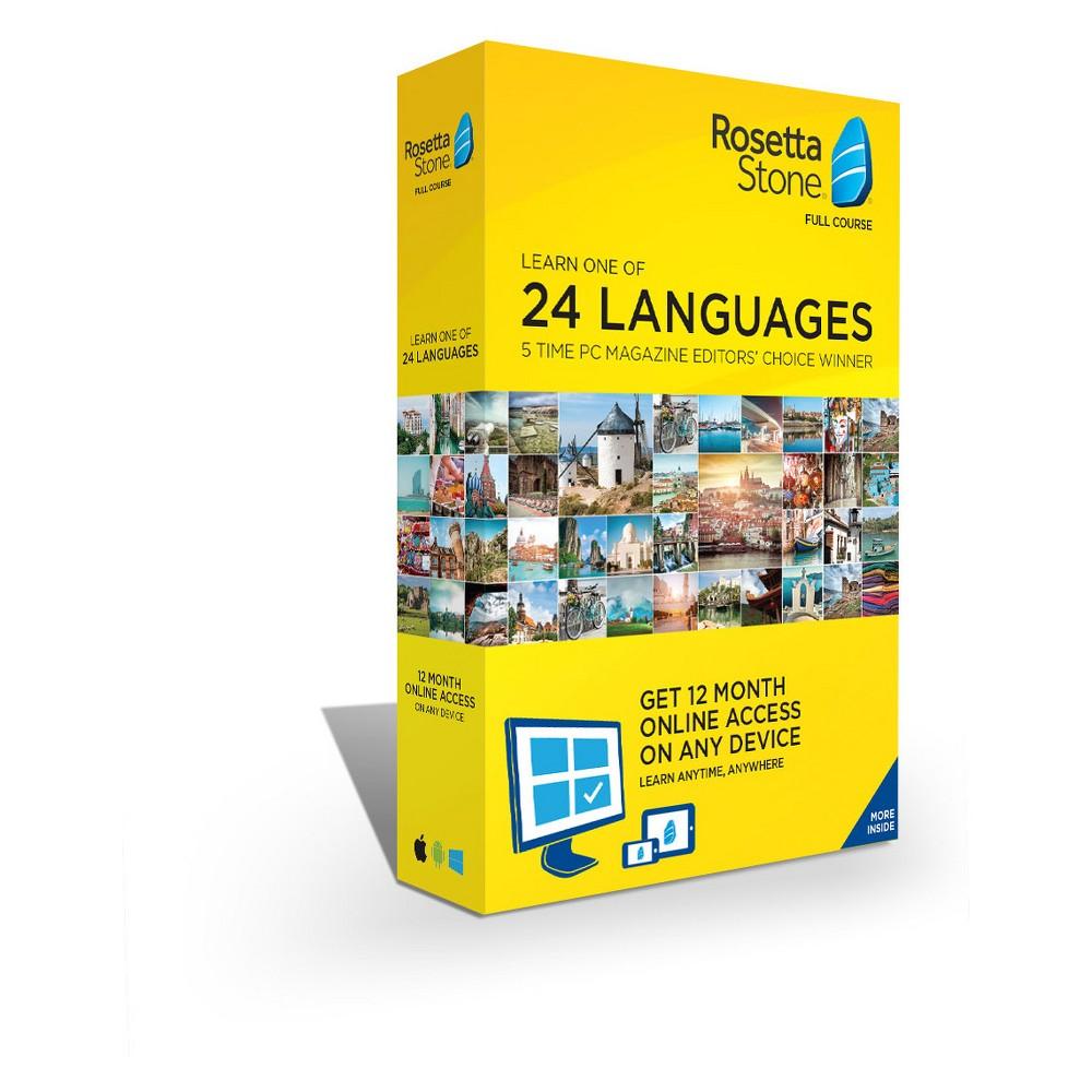Rosetta Stone 12 Month Language Agnostic