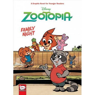 Disney Zootopia: Family Night (Younger Readers Graphic Novel) - (Hardcover)