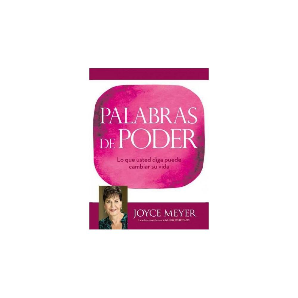 Palabras de Poder / Power Words (Hardcover) (Joyce Meyer)