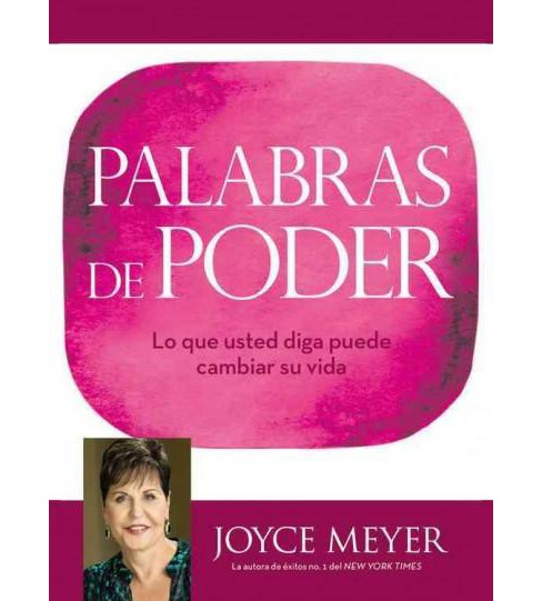 Palabras de Poder / Power Words (Hardcover) (Joyce Meyer) - image 1 of 1