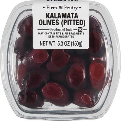 Ficacci Pitted Kalamata Olives - 5.3oz