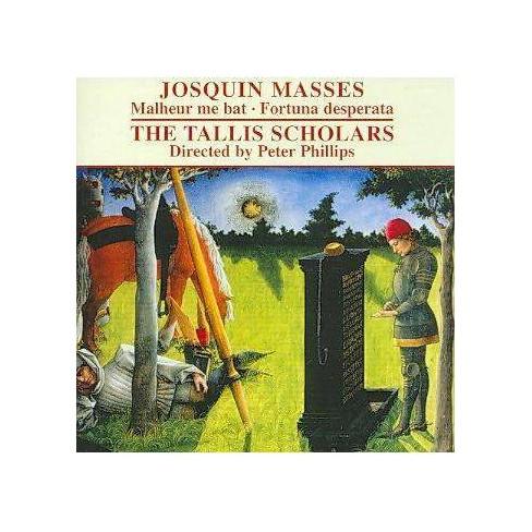 Josquin Desprez: Missa Malheur me bat; Missa Fortuna desperata (CD) - image 1 of 1
