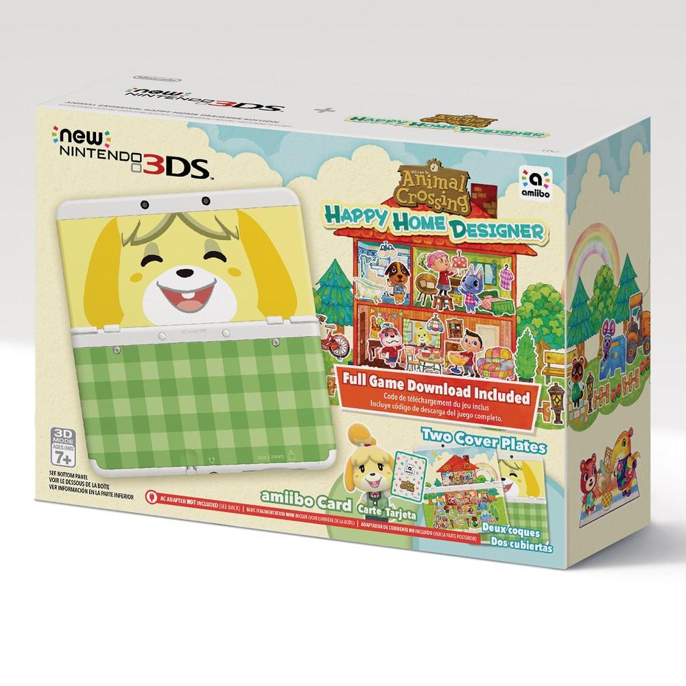 Nintendo 3DS Console + Animal Crossing Happy Home Designer Bundle Nintendo 3DS Console + Animal Crossing Happy Home Designer Bundle Color: Black. Gender: unisex.