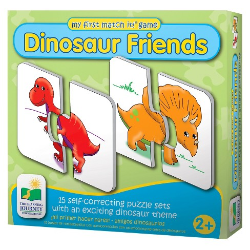 The Learning Journey My First Match It, Dinosaurs 30pc - image 1 of 2