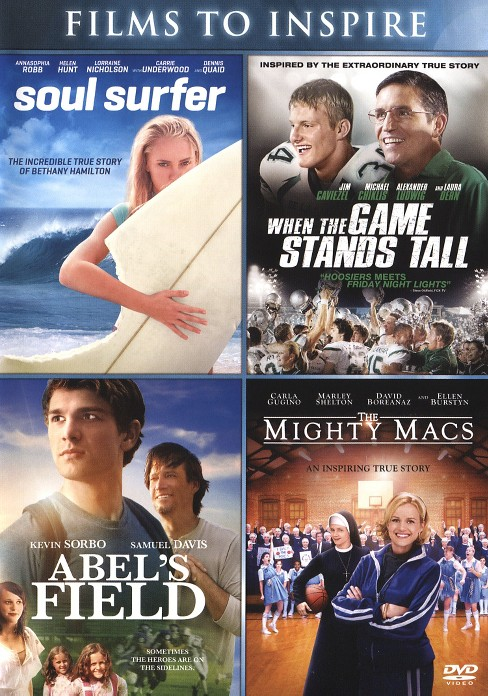 Abel's field/Might macs/Soul surfer/W (DVD) - image 1 of 1