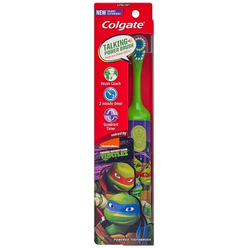 Colgate® Kids TMNT Interactive Power Toothbrush - Styles May Vary - image 1 of 4