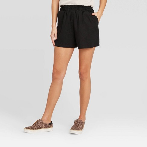 Women's High-Rise Pull-On Shorts - Universal Thread™ - image 1 of 3