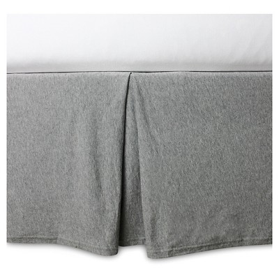 Burt's Bees Baby® Organic Fitted Crib Skirt - Solid - Heather Gray