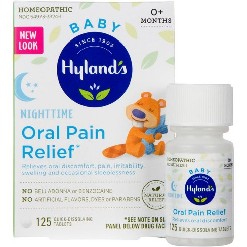 Hyland's Baby Nighttime Oral Pain Relief - 125ct - image 1 of 4