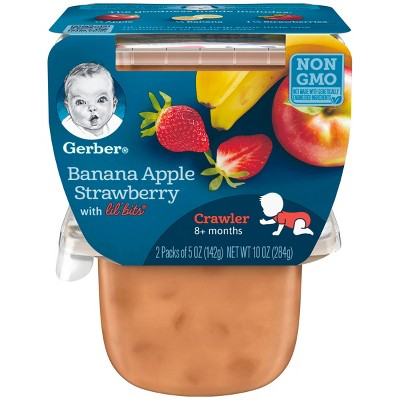 Baby Food: Gerber with Lil' Bits